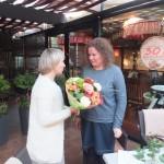 Direktorės Rasos Jurgutienės sveikinimai vyresniajai auklėtojai Ritai Nenartėnienei