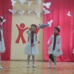 """Palangos lopšelio-darželio """"Gintarėlis"""" šokėjos (mokytoja Erika Kuzmenko)"""