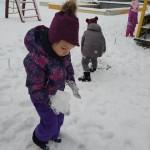 Minkštas, purus sniegelis...