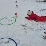 Žiemos sportas - vienas iš įdomiausių.