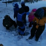 Atradome ledą.