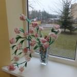 """Ačiū Zacharijaus  iš ,,Uosiukų"""" gr. mamytei už gėles"""