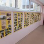 Plakatai, atspindintys darželio istoriją