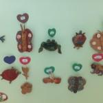 Vaizdai iš keramikos darbelių parodos