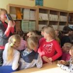 Priešmokyklinukai Palangos pradinės mokyklos bibliotekoje