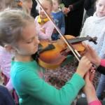 Prisilietimas prie smuiko