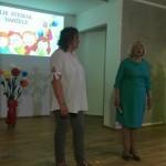 Vaikus išlydi priešmokyklinio ugdymo pedagogės Roma Pociuvienė ir Rita Nenartėnienė
