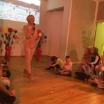Su vaikais atsisveikina direktorė Rasa Jurgutienė