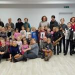 Edukaciniame užsiėmime su ST. Vainiūno meno mokyklos mokytojais ir mokiniais