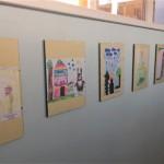 """Palangos lopšelio-darželio """"Žilvinas"""" vaikų piešinių paroda """"Piešiu pasaką"""""""