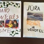 """Palangos lopšelio-darželio """"Žilvinas"""" vaikų sukurtų knygelių paroda"""