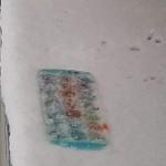 Lauke ant palangės šąla mūsų ledo kubeliai.