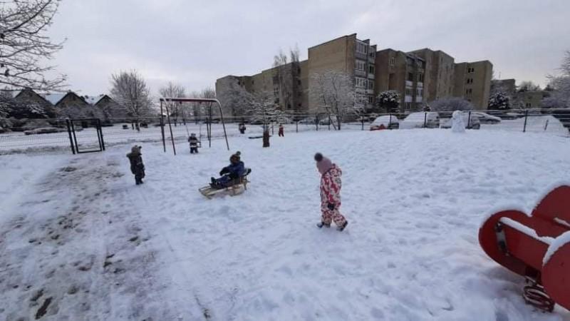 Žiemą - pilna malonumų.