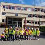Ištyrinėjo šalia darželio esančios Palangos Baltijos pagrindinės mokyklos aplinką.