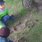 """Grupės """"Berželiai"""" vaikų atradimai"""